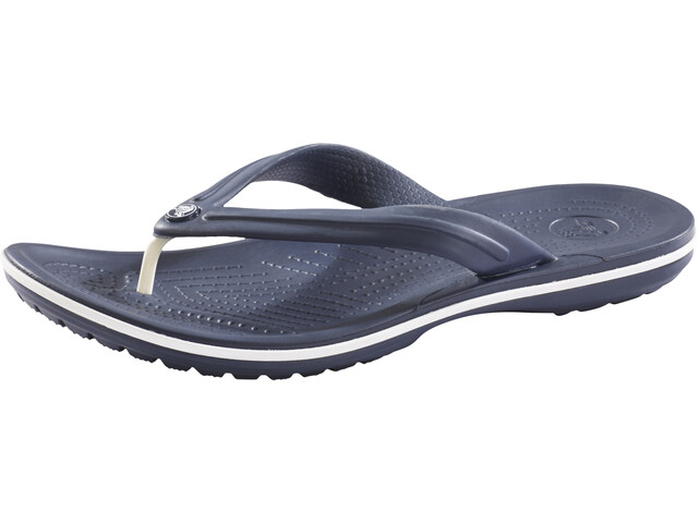 1ed7c7221d1b Crocs Crocband Flip Sandals Unisex navy at Addnature.co.uk